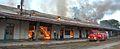 Estacion Ferrocarril General Mitre en llamas - panoramio - Xaberius Xaverius.jpg