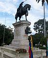 Estatua de Simon Bolivar en Merida.JPG