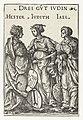 Ester, Judit en Jaël als drie joodse heldinnen Drei güt Ivdin (titel op object) Helden en Heldinnen (serietitel), RP-P-OB-4361.jpg