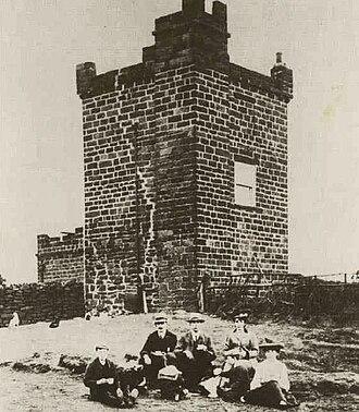 Eston Nab - The Beacon at Eston Nab (1907)