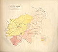 Ethnographic map of Vilno governorate of Russian empire - made by an officer A. Koreva - 1861 AD.jpg