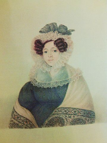 Евдокия Петровна Алмазова (ур. Зубкова), мать поэта