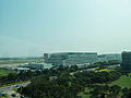 Eva Air Taoyuan EGAT View from Observation tower of Aviation museum 20140330.jpg