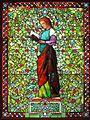 Evening by John La Farge, c. 1881, leaded opalescent glass .JPG
