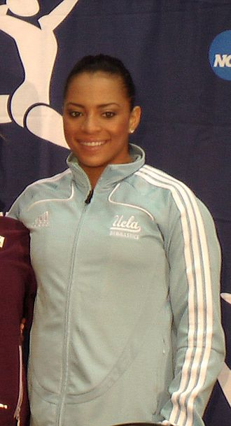 Tasha Schwikert - Image: Event Finals Winners NCAA Championships 2008 Tasha Schwikert (cropped)