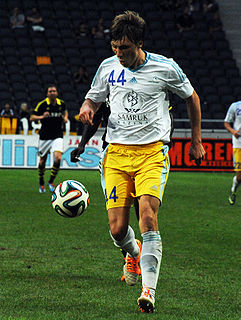 Yevgeny Postnikov Russian-born Kazakhstani footballer