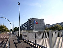 Prefecture building of the Essonne department, in Évry