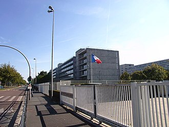 Essonne - Prefecture building of the Essonne department, in Évry