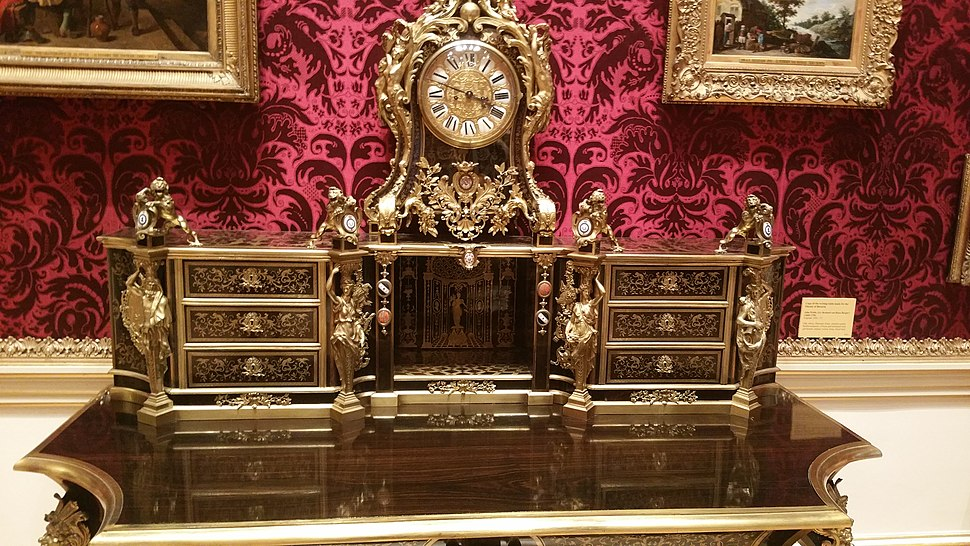 Example of Boulle Marquetry from the Wallace Collection in London 12