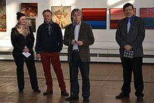 Exhibition LABIRINT II in Palace of Art 14.04.2015 Rygor Sitnica.JPG