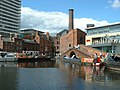 Exit from Gas Street Basin - geograph.org.uk - 429884.jpg