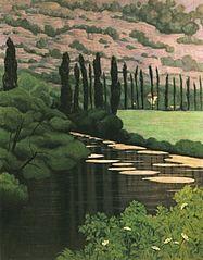 Paysage à Marcillac