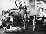 F-4B of VF-11 in hangar of USS Forrestal (CVA-59) c1968.jpg