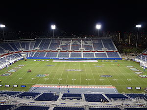 FAU Stadium - Image: FAU Stadium night