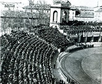 Athletic Bilbao in European football - Athletic's first matches in Europe in the Latin Cup were played in Milan's Arena Civica