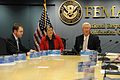 FEMA - 39880 - DHS Secretary Janet Napolitano visits FEMA Headquarters.jpg