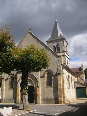 L'église de Saint-Ennemond.