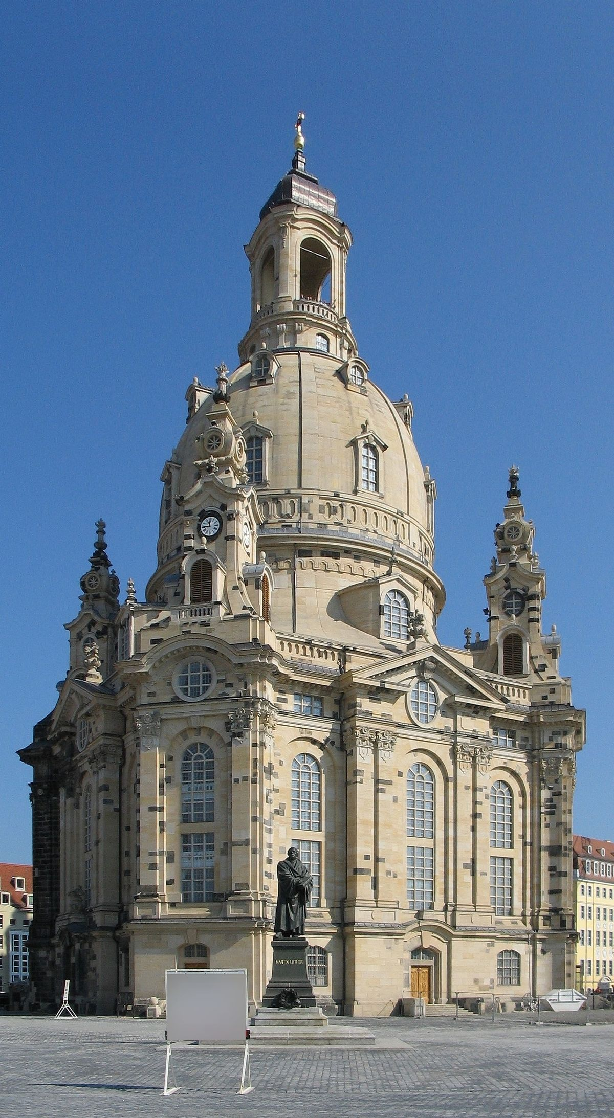 frauenkirche de dresden wikip dia a enciclop dia livre. Black Bedroom Furniture Sets. Home Design Ideas