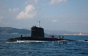Rubis-class submarine - Image: FS Casabianca 03