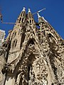 Facade of the Sagrada Familia, Barcelona, Spain.jpg