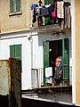Facade with Che Guevara Banner - Palma de Mallorca - Mallorca - Spain (14304834710).jpg