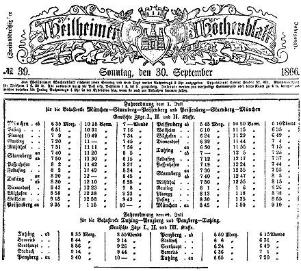 Bahnstrecke Weilheimpeißenberg Wikiwand