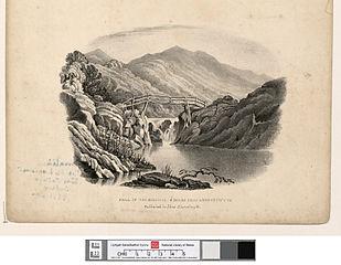 Fall of the Rheidiol: 6 miles from Aberystwyth