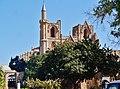Famagusta - Gazimagusa Lala-Mustafa-Pasha-Moschee (Nikolauskathedrale) Fassade 1.jpg