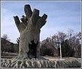 Family Groups (Young trees inside the old tree), Park-e Bojeh ورودی پارک بوجه، زندگی خانوادگی - panoramio.jpg