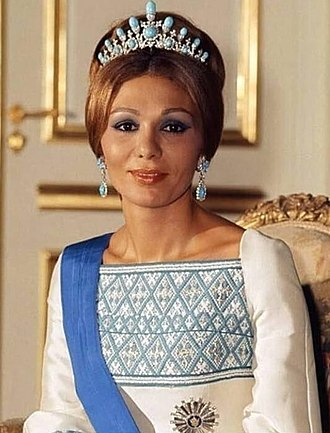 Farah Pahlavi - The Shahbanu in 1972