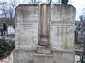 Farkasréti Jewish cemetery. Israel Brück 1909. - Budapest.JPG