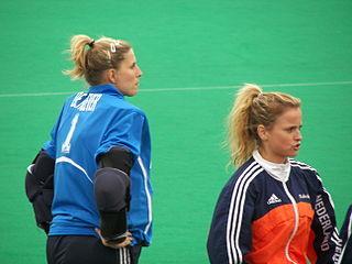 Lisanne de Roever field hockey player