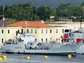 Panarea-class tanker - Image: Favignana (A 5372)