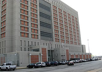 Al Sharpton - Metropolitan Detention Center, Brooklyn, where Sharpton was imprisoned