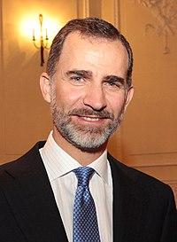 Le roi Philippe VI en 2014