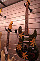 Fender Custom Shop flower and butterfly painted Stratocaster, Salon de la Musique et du Son 2008.jpg