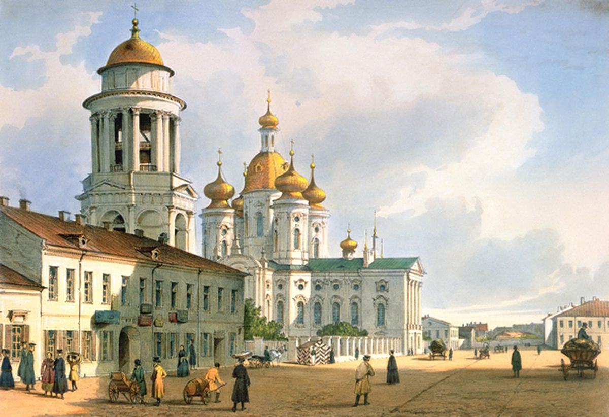 St. Vladimirs Cathedral in St Petersburg: History