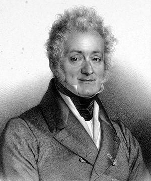 Ferdinando Paer - Ferdinando Paer; lithograph by François Delpech (1778-1825)