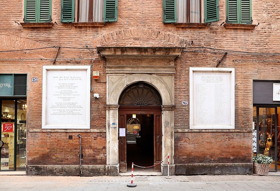 Ferrara, sinagoga, 01