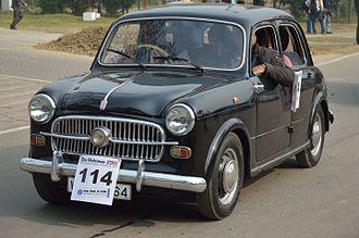 Premier (company) - Fiat 1100 Elegant launceed in 1955