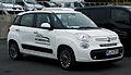 Fiat 500L 1.4 16V Easy – Frontansicht, 17. November 2012, Heiligenhaus.jpg