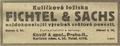 Fichtel a Sachs reklama 1921.png