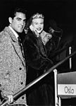 Film star Ginger Rogers and her husband 1950s.jpg