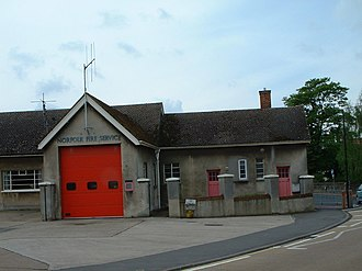 Downham Market - Fire Station in 2006, now a heritage centre