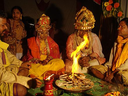 What is a good thesis for a research paper concerning Hindu marriage rituals?