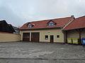 Fire station in Číhalín, Třebíč District.JPG