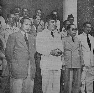 Republic of the United States of Indonesia Cabinet - The first RUSI cabinet