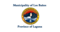 Flag of Los Baños Laguna.png