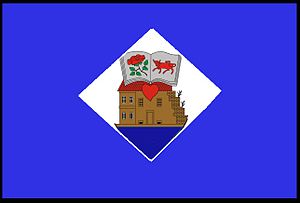 Ukmergė - Image: Flag of Ukmergė