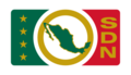 Flag of the Mexican Secretariat of National Defense (2000).png